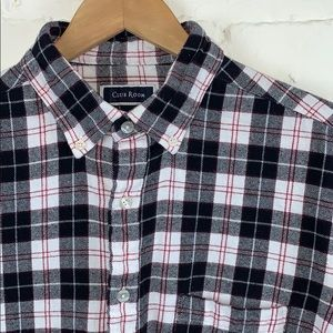Club Room Flannel Button Down Shirt